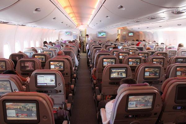 Салон авиакомпании Emirates