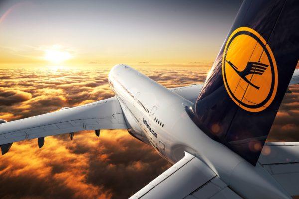 Самолет авиакомпании Deutsche Lufthansa