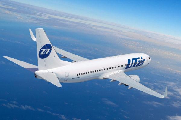 Самолет авиакомпании «Ютэйр»
