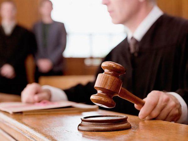 Снять запрет можно через суд