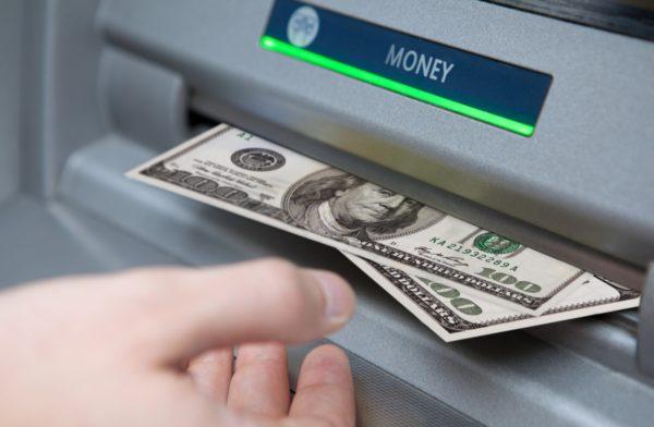 Снятие денег с карты