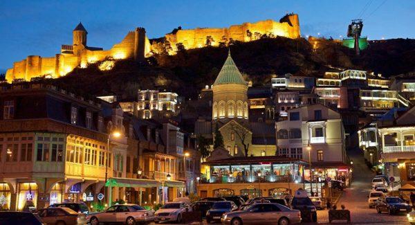 Столица Грузии Тбилиси