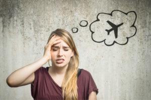 Страх полета может возникнуть у любого