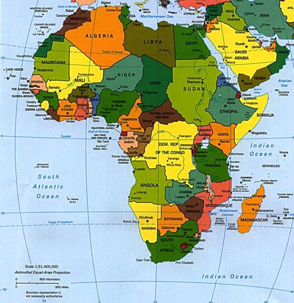 Страны Африки