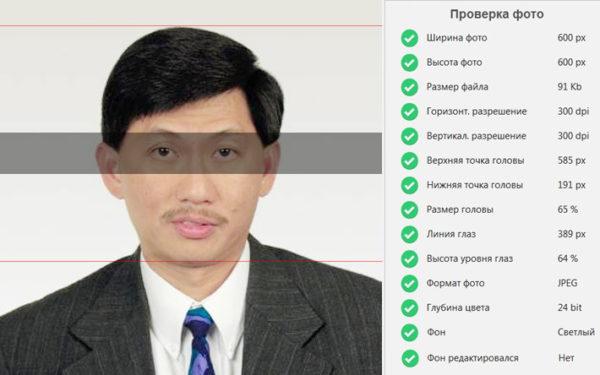 Требования к фото для анкеты