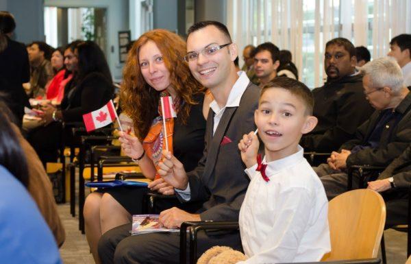 Церемония вручения гражданства