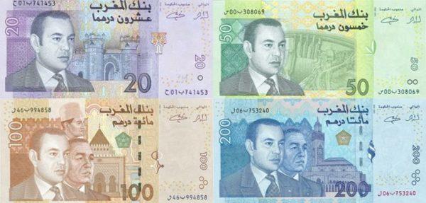 Валютой страны является мароканский дирхам (MAD)