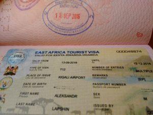 Виза в Руанду