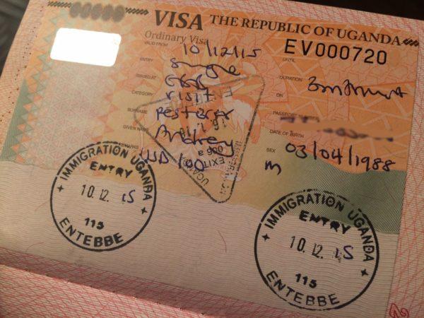 Введена система он-лайн подачи заявок на Угандискую визу