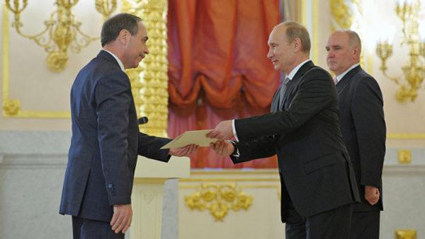 Владимир Владимирович Путин и Бойко Коцев