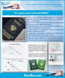 Что дает российский ВНЖ