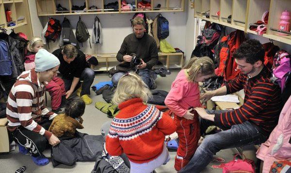 Детсадовские будни в Норвегии