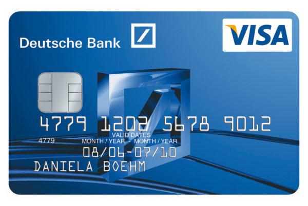 Deutsche Bank Visa Credit Card