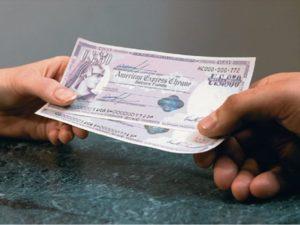 Дорожный чек – это платежный документ, являющийся эквивалентом наличных денег