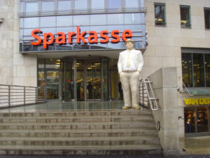 Германия входит в число стран с наиболее плотными сетями банковских филиалов