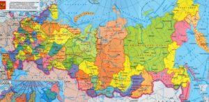 Карта РФ