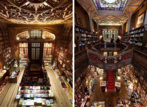 Книжный магазин Livraria Lello — главная достопримечательность города Порту. Сегодня он считается национальным памятником Португалии