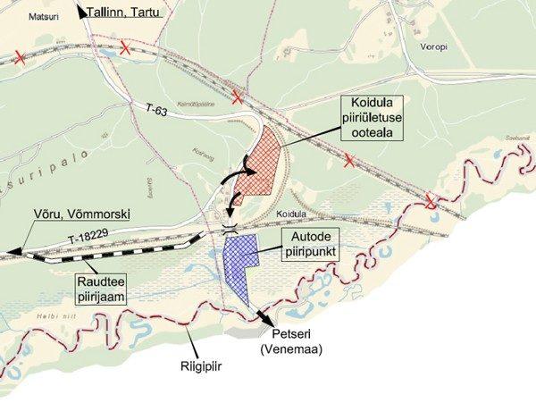 На текущий момент стоимость бронирования очереди на границы Эстонии с Россией составляет 1 евро