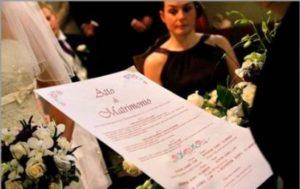 Свидетельство о бракосочетании