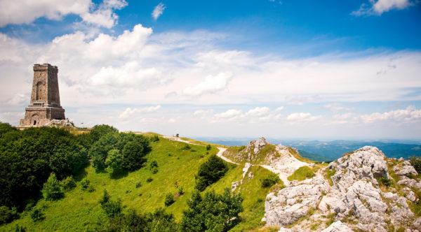 Монумент свободы на горе Шипка