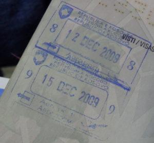 На границе косовская виза не выдается, получить ее можно только в консульстве