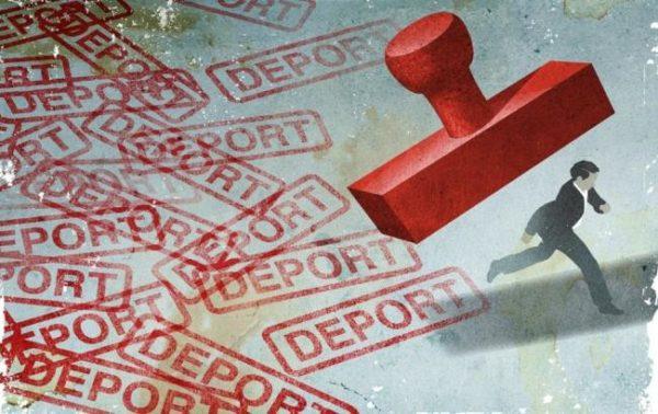 Нарушителей ждет депортация