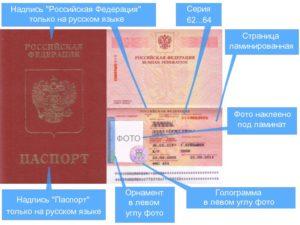 Образец заграничного паспорта старого образца