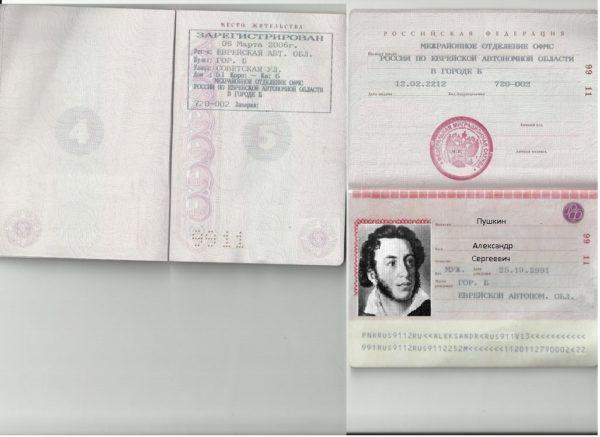 Подготовьте копии страниц паспорта с фото и пропиской