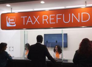 Поиск офиса Tax-free и гашение чеков