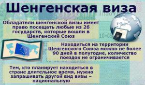 Полезная информация о шенгенской визе