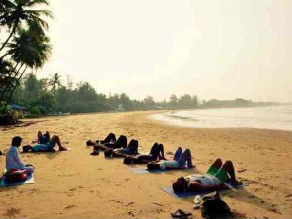 Расслабляющая Йога Retreat в Гоа, Индия