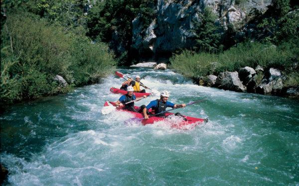 Река Цетина, каноэ сафари