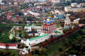 Рязань. Вид на Рязанский Кремль