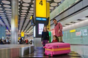 Сдача негабаритного багажа или доплата за перевес