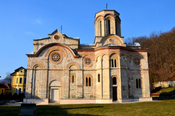 Собор в монастыре Любостыня у города Трстеник