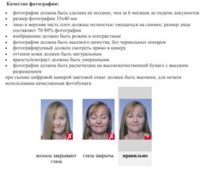 Требования к фотографии по стандарту ICAO