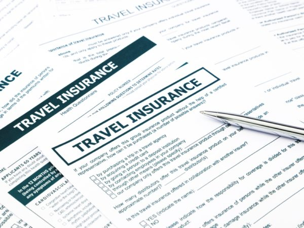 Туристическая страховка оформляется перед поездкой