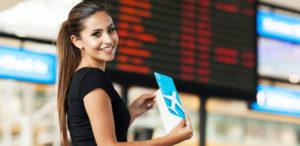 У бронирования места в самолете через Интернет есть много преимуществ