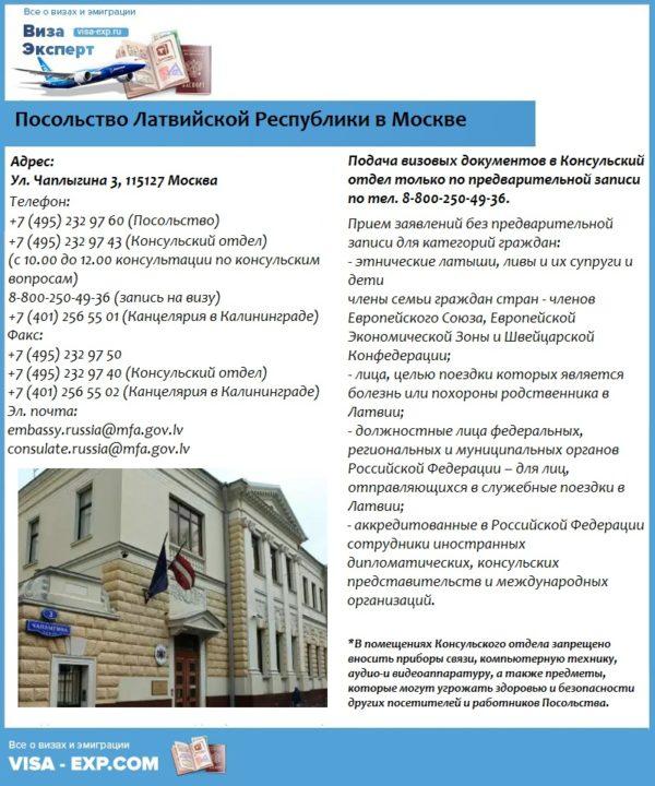 Посольство Латвийской Республики в Москве