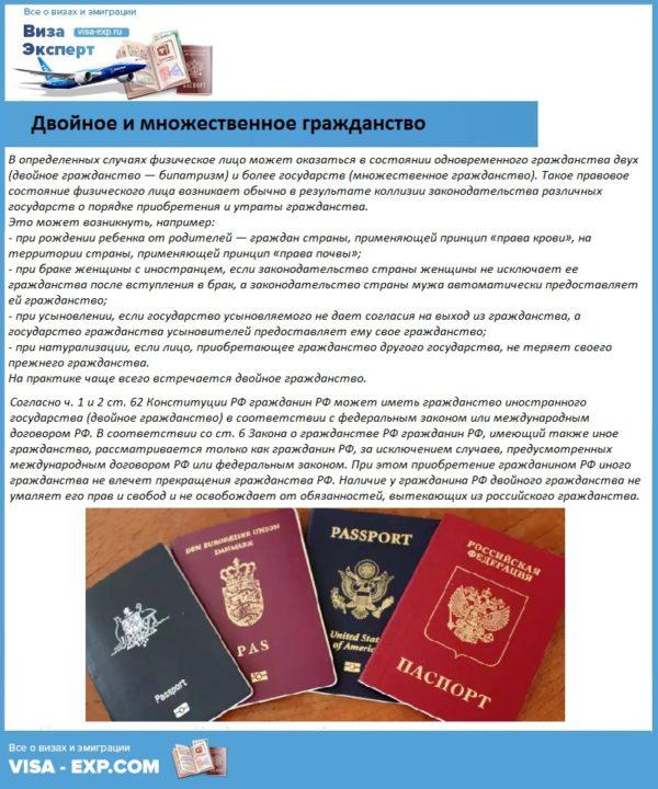 Двойное и множественное гражданство