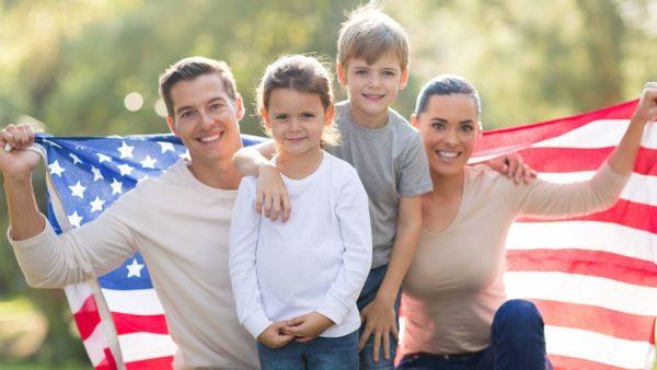 Воссоединение семьи в США