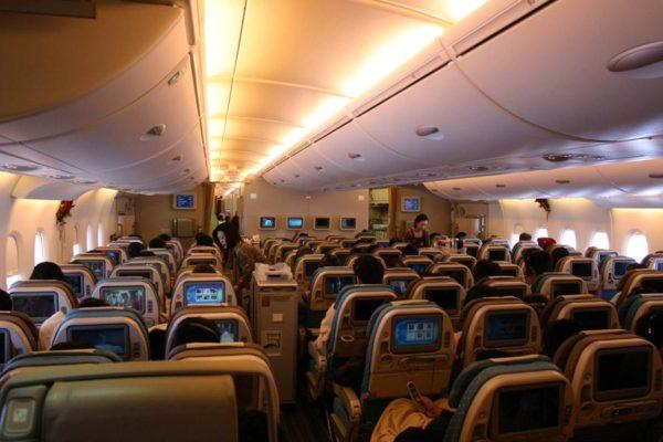 Совет: посмотрите заранее компоновку самолета, если, конечно, знаете на каком полетите – на Боинге или Airbus. Эту информацию можно найти на официальном сайте авиакомпании