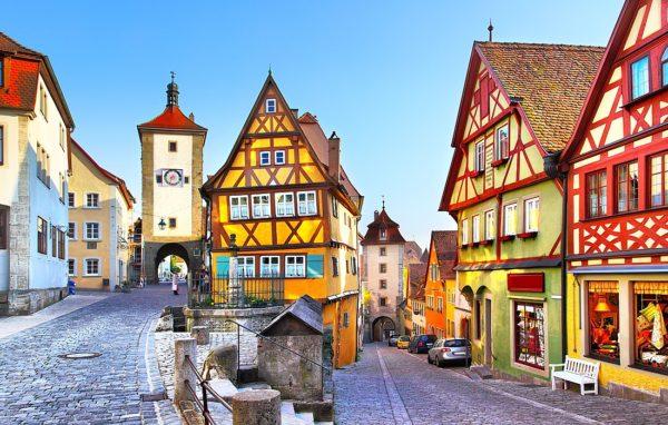 Исторический центр Ротенбург-об-дер-Таубер (Мюнхен, Германия)