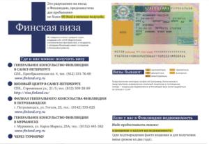 Как и где получить финскую визу