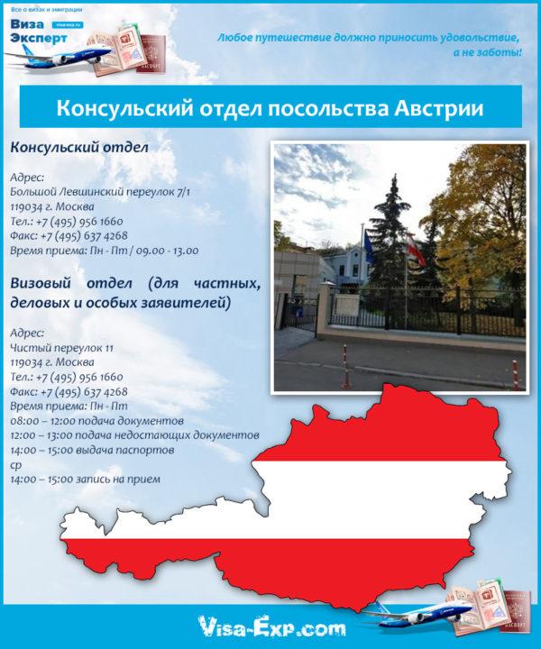 Консульский отдел посольства Австрии