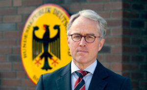 Посол ФРГ в России барон Рюдигер фон Фрич-Зеерхаузен