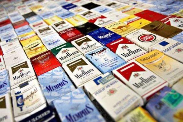 С собой можно брать не более 10 пачек сигарет