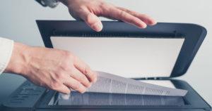Снятие копий с документов