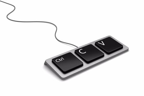 Сочетание клавиш «Ctrl+C», «Ctrl+V» для копирования и вставки маршрут-квитанции