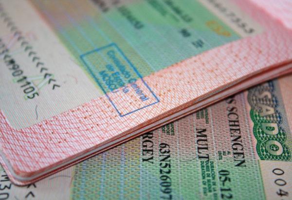 В конце остается только получить визу